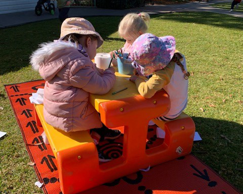 Dubbo and District Preschool - Back Playground